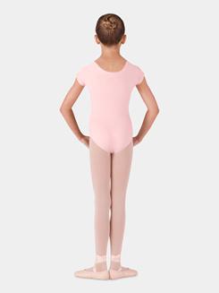 Girls Essential Short Sleeve Leotard