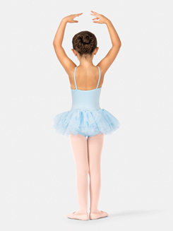 Child Leotard w/ Attached Tulle Skirt 