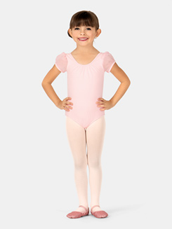 Girls Kani Short Sleeve Leotard