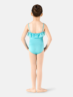 Girls Daisy Frill Camisole Leotard