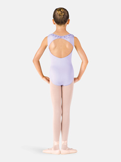 Girls Daisy Frill Tank Leotard