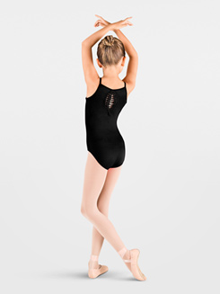 Child Spliced Racer Back Camisole Leotard