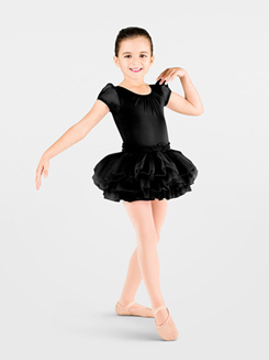Child Cap Sleeve Tutu Dress 