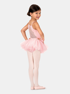 Child Embroidered Mesh Camisole Tutu Dress