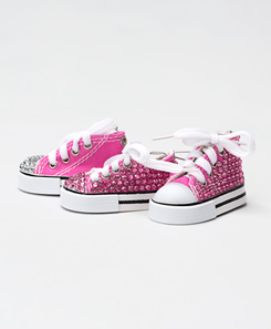 Blinged Mini Sneaker Ornament