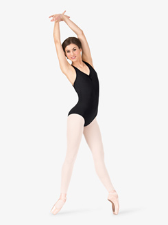 Adult Strappy Back Tank Leotard 
