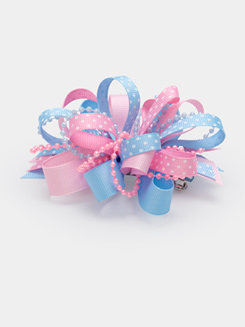 Pastel Ribbon Hair Bow