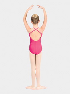 Girls Adjustable Camisole Dance Leotard