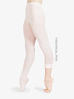 Faux Backseam Convertible Dance Tight 