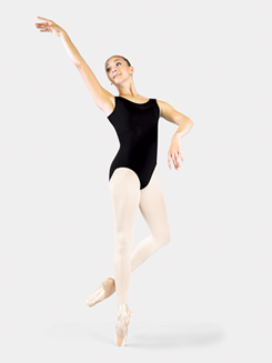 Adult Bolshoi Stars Collection Tank Mesh Trim Leotard