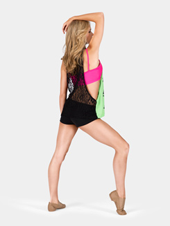 Adult Leave it on the Dance Floor Lace Tank Top