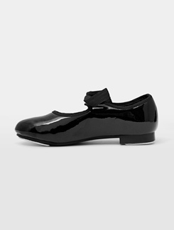 Ribbon Tie Child Tap Shoe