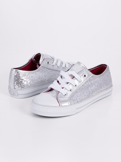 Child Glitter Low Top Sneaker