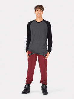 Adult Color Block Jogger Pants