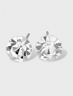 10mm Solitaire Earrings