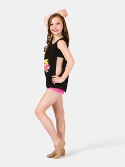 Girls Dance Scoop Neck Tank Top