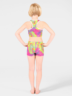 High Voltage Child Gymnastic Short