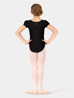 Child Cap Sleeve Scoop Neck Leotard