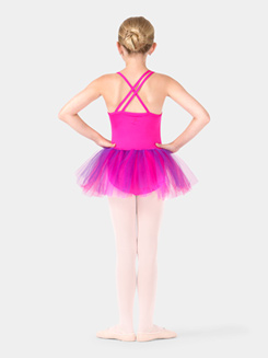 Child Metallic Tank Tutu Dress