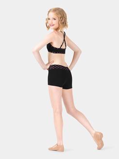 Child Polka Dot Dance Shorts