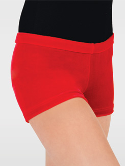 Child Velvet Gymnastic Short 
