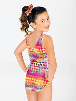 Child Groovy Gymnastic Tank Leotard