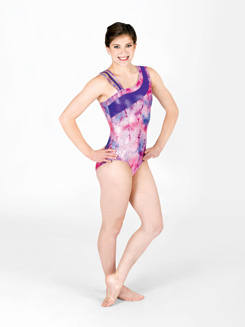 Adult One Shoulder Gymnastic Leotard