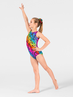 Cosmos Child Gymnastic Tank Leotard 
