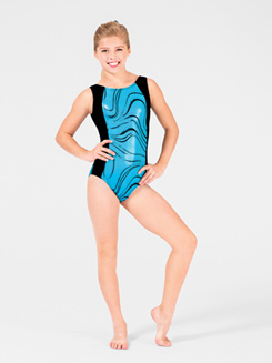 Adventurous Child Gymnastic Tank Leotard