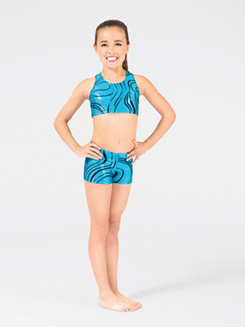 Adventurous Child Gymnastic Short 