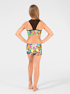 Hearts & Stars Child Gymnastic Short