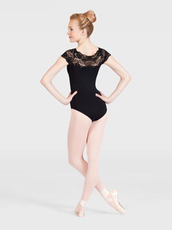 Adult Short Sleeve Dance Leotard