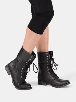 Girls Convertible Combat Boot