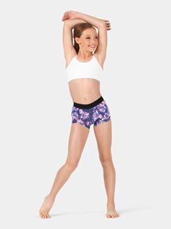 Child Printed Elastic Waistband Shorts