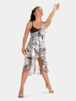 Adult Tank Tie Dye Lyrical Dress