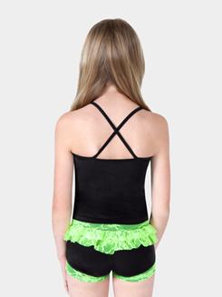 Girls Lace Ruffle Dance Short