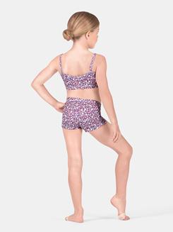 Girls Floral Dance Shorts