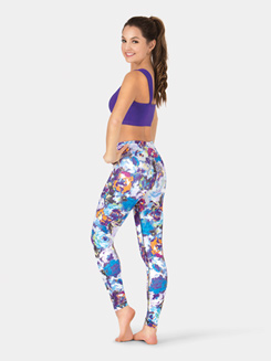 Adult Sublimated Dance Ankle Leggings