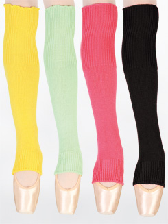 Bright Stirrup Legwarmers 