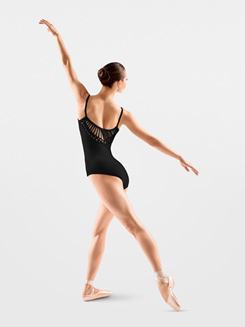Adult Spliced V Back Camisole Leotard