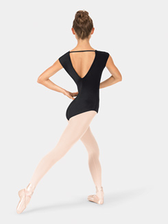 Adult Woven Cap Sleeve Leotard