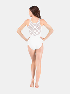 Adult Tank Mesh Back Leotard