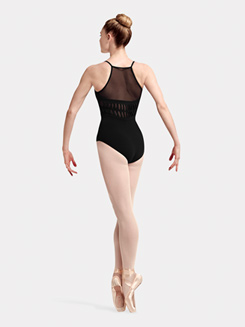 Adult Hila Camisole Spliced Back Mesh Leotard