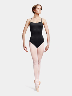 Adult Topaz Diamond Mesh Camisole Leotard