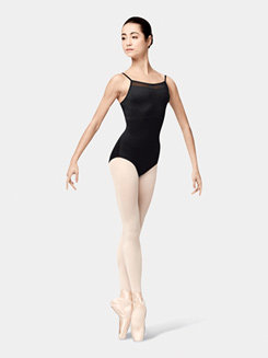Adult Macona Box Pleat Camisole Leotard