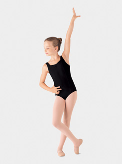 Girls Pinch Front Tank Leotard