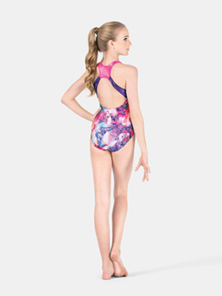 Girls Gymnastic Tank Leotard