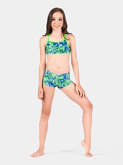 Girls Gymnastics Camisole Bra Top