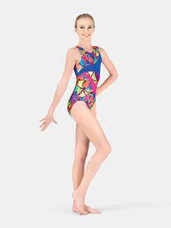 Girls Gymnastics Tank Leotard