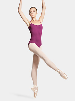 Adult Camisole Tulle Gathered Back Leotard